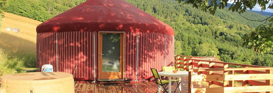 un terrain de camping