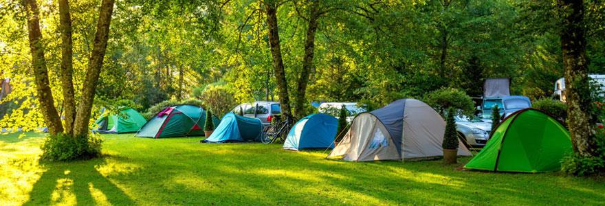 Camping dans le Finistère